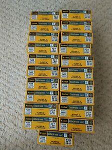 Kodak Ektachrome 7242 EF Super 8 Film No Exp Date on Box 21 Boxes For Sale Each