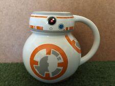DISNEY STORE STAR WARS THE FORCE AWAKENS BB-8 ROBOT COFFEE MUG