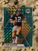 2020 PANINI MOSAIC TERRY BRADSHAW GREEN MOSAIC PRIZM #171 PITTSBURGH STEELERS