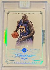 New listing 2014-15 Flawless Champions Shaquille O'Neal /20   DIAMOND HOF LAKERS