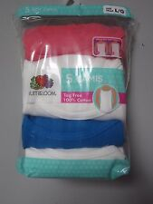 Fruit of the Loom Youth Girls' 5-Pack Multi-Color Camis Size L