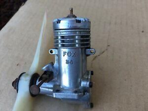 FOX 35 Stunt Engine RC Aircraft Motor Good Compression!