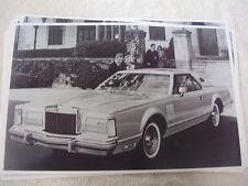 1978 LINCOLN CONTINENTAL  MARK V  11 X 17  PHOTO /  PICTURE