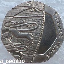 2008 Twenty Pence 20p Undated Mule Error Rare
