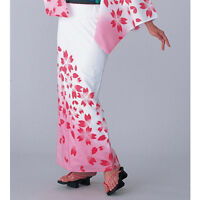 Japanese Yukata Sakura Cherry design pink for women summer kimono cloth