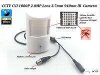 CCTV HD-CVI 2.0MP 1080P Lens 3.7mm IR-CUT PIR Hidden Detecto Spy 940nm IR Camera