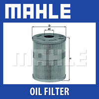 Mahle Oil Filter OX125D - Fits VW - Genuine Part