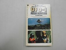 UFO-1 Flesh Hunters by Robert Miall! (1973, Warner)! 2nd pb printing! LOOK!