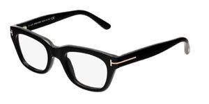 Tom Ford FT5178 001 5178 Shiny Black Optical Frame Eyeglasses 50mm New Italy