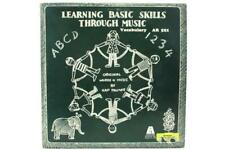 1980 Learning Basic Skill Through Music Palmer Educational Activities LP Record