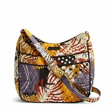 Vera Bradley Carryall Crossbody Bag in Painted Feathers