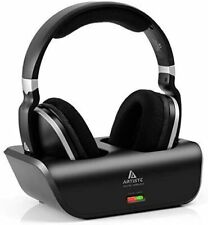 ARTISTE Wireless TV Headphones Over Ear Headsets - Digital Stereo Headsets With