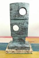 "BARBARA HEPWORTH BRONZE SCULPTURE "" SQUARES W TWO CIRCLES  "" SIGNED AND NUMBERED"