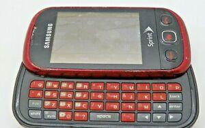 Samsung Seek SPH-M350 - Drd! - Slider Phone, Screen Cracked, For Parts /Repair