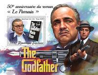 Togo Famous People Stamps 2019 MNH The Godfather Mario Puzo Marlon Brando 1v S/S