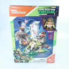 Mega Construx Teenage Mutant Ninja Turtles Mikey Kitchen Chaos Building Set