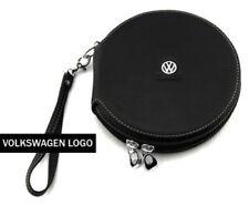 Volkswagen Etui PU Leder 20 CD Case Auto DVD Halter Disc Album Storage Organizer