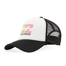Billabong Podium Trucker Unisex Headwear Cap - White One Size