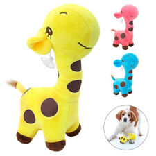 Aggressive Chew Toys for Dogs Soft Stuffed Deer Dog Plush Toy for Pet Cat Rabbit