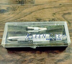 Vintage Kleen Reem Estate Pipe Reamer Tool In Case Box
