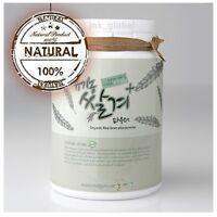 Korea Organic Rice Bran Powder Face Mask Cleanser Skin Care Brightening 300ml
