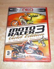 Moto Racer 3 Gold Edition - Nuevo y Precintado - Español - Pc