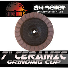 "7"" Ceramic Diamond Grinding and Polishing Cup Wheel Disc for Concrete"
