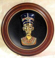 Egypt Splendours Ancient World Nefertiti Eternal Beauty Collector Plate & Frame