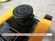 HALFORDS LOW PROFILE  Trolley jack Rubber protection pad for jacking pad tool