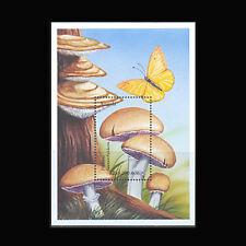 Angola, Sc #1104, MNH, 1999, S/S, Mushrooms, Fungi, Butterfly, FU57F