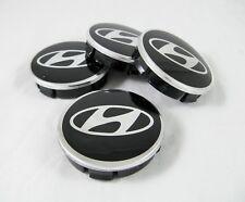 4 Pcs Set Center Hub Caps For HYUNDAI Alloy Wheel Rims 60/56 mm. Aluminum New