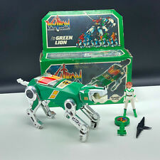 VOLTRON VINTAGE ACTION FIGURE LION toy box 1984 PANOSH PLACE Green Pidge Left