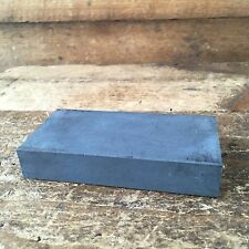 Vintage Hand Tool SILICON CARBIDE Medium SHARPENING STONE Old Antique #29
