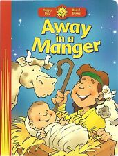 AWAY IN A MANGER New BABY JESUS Christmas CHRISTIAN Toddler PRESCHOOL Board BOOK