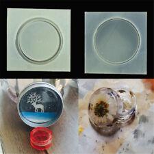 1set DIY silicone boîte de rangement moule résine époxy moulage de bijoux moule