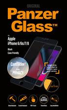 "Displayschutz PanzerGlass ""E2E"" iPhone 6,7,8 / Privacy CamSlider, black NEU"