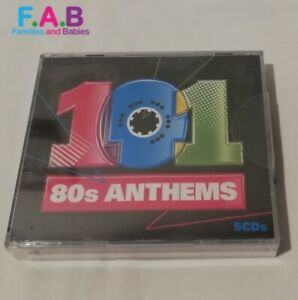 Various Artists - 101 80's Anthems (2010) New Sealed 5 CDs