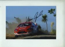 Marcus Gronholm Peugeot 307 WRC New Zealand Rally 2005 Signed Photograph