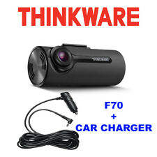 Thinkware F70 + Cargador de coche, 1080P Dashcam Frontal, sensor G, Cmos Sony 8 GB