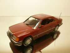 MINICHAMPS MERCEDES BENZ 300 CE - REDBROWN METALLIC 1:43 - GOOD CONDITION