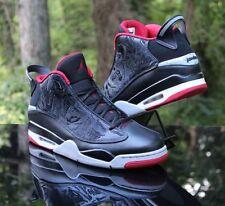 Air Jordan Dub Zero Bred Black Gym Red Grey 311046-013 Men s Size 13 792470193