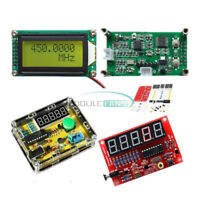 1Hz-50MHz 1MHz-1.1GHz Frequency Counter Crystal Oscillator Tester meter DIY Kits