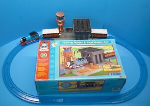 Thomas The Train & Friends Water & Coal Station Set Works Missing Light & Ladder