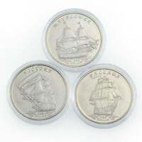 2016 one dollar 3 coins set Ships Kiribati Gilbert Islands