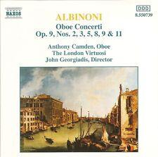 Albinoni - Oboe Concerti, Vol.1 / Anthony Camden