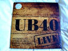 Vinyl Double Album: UB40 : Live London O2 Arena 2009 Volume 1 Clear Vinyl Sealed