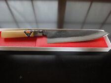 Japanisches Profi Kochmesser Gyuto (Klinge:210mm)weiß Stahl-1(Shirogami-1)