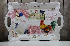 21,5 x 16 cm Fancy Animals by Dora Papis Easy Life Tablett Flamingo