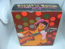 Rare Vintage Avon Electric Guitar Men's Sure Winner Bracing Lotion Mib 6oz