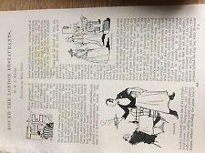 m12c ephemera 1896 article round the london restaurants w j wintle